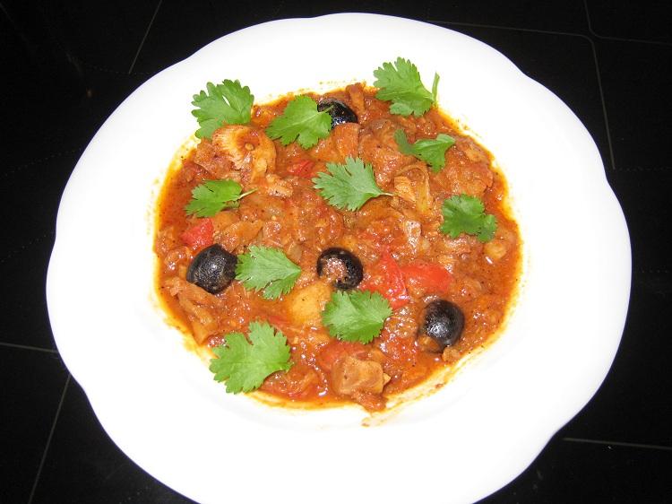 Svanhilds spicy Bacalao