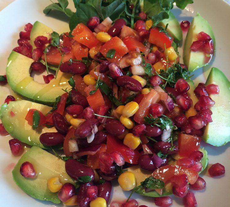 Fargerik salat